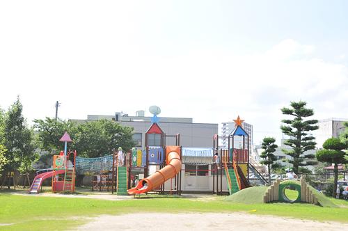 長崎星美幼稚園 園庭の遊具