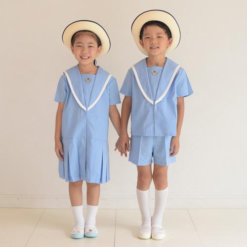 長崎星美幼稚園 夏服