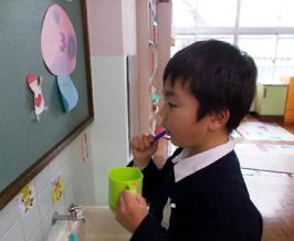 片付け・歯磨き